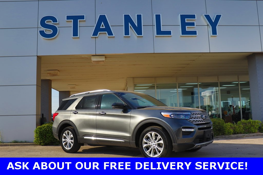 New 2020 Ford Explorer Limited With Navigation & AWD