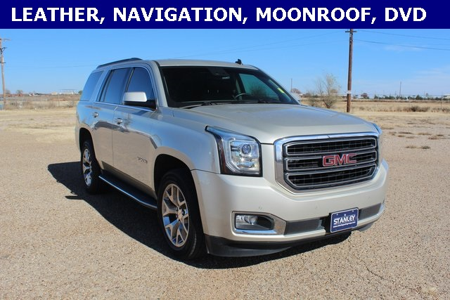 2015 Gmc Yukon Slt >> Pre Owned 2015 Gmc Yukon Slt With Navigation