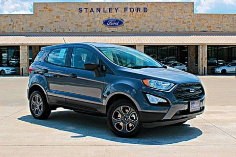 New 2018 Ford EcoSport S